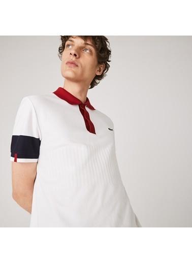Lacoste Erkek Regular Fit Tişört PH1885.8FW Beyaz